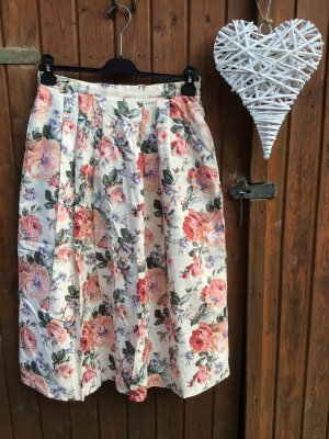 Meico Plaid Skirt multicolored
