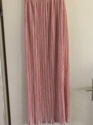 Amisu Plaid Skirt rose-gold-coloured