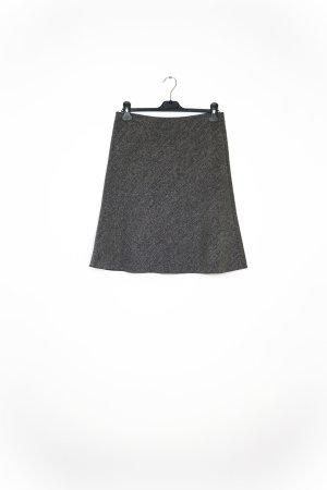 Falda larga gris claro