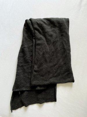 Reserved Écharpe en laine gris anthracite-gris foncé
