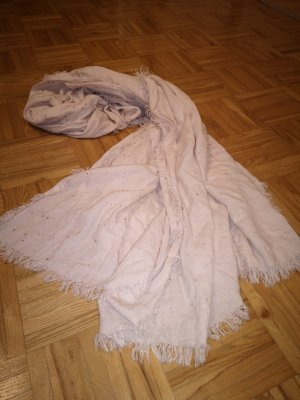 langer Schal Tuch Rosa