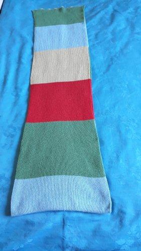 Écharpe en tricot multicolore tissu mixte