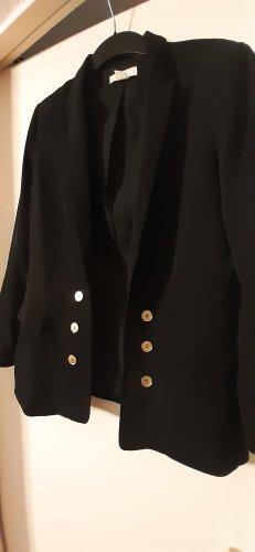 langer schwarzer Blazer