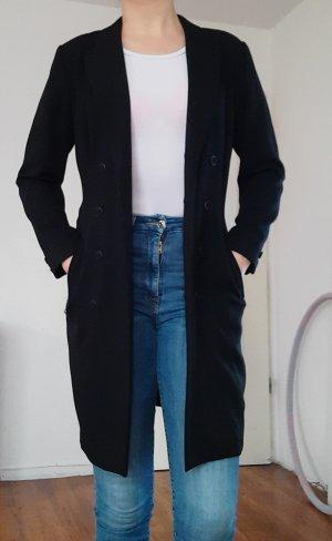 Langer schwarzer Blazer Gr.36