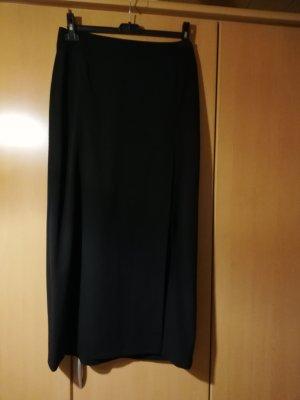 Sportalm Falda larga negro tejido mezclado