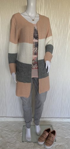 Colloseum Manteau en tricot multicolore