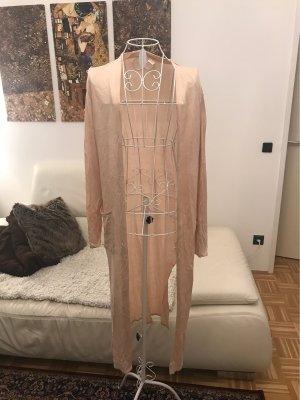 H&M Cappotto a maglia rosa pallido-rosa chiaro