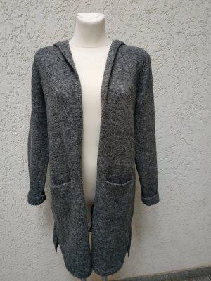 Abrigo de punto gris
