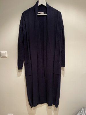 Stefanel Knitted Coat dark blue