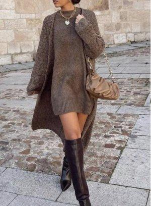Langer Strickpullover von Zara!