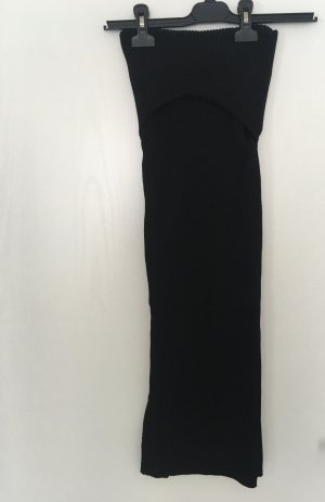 Zara Jupe longue noir viscose