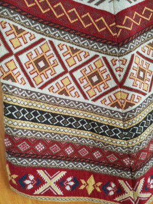 Waschbär Gonna lavorata a maglia multicolore