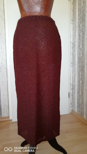 Marc Cain Knitted Skirt russet mixture fibre