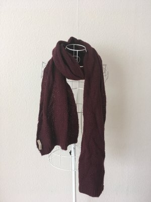 Codello Knitted Scarf bordeaux-dark red
