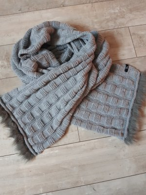 Samaya Knitted Scarf light grey
