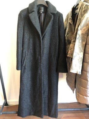 Amisu Floor-Lenght Coat black