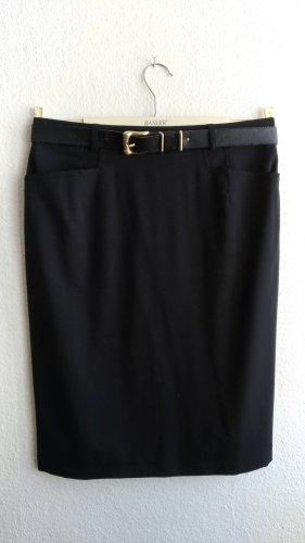 Hammer High Waist Skirt black