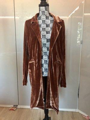 Amisu Abrigo de entretiempo marrón