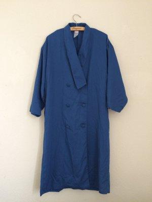 3suisses Prochowiec niebieski-chabrowy Tkanina z mieszanych włókien