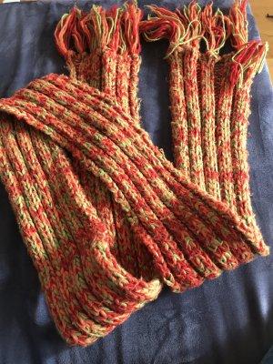Unbekannte Marke Écharpe en crochet multicolore
