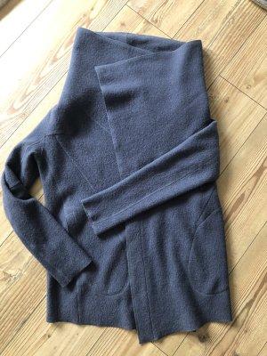 LangerChen Wełniany sweter niebieski