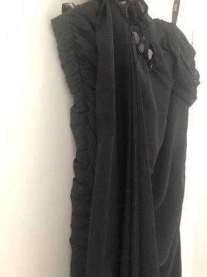 langes Abendkleid | schwarz | Gr. 40|M | Vera Mont | transparent