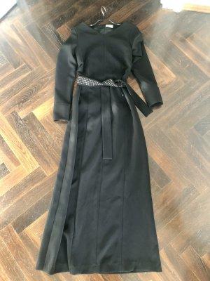 Aigner Suknia wieczorowa czarny Tkanina z mieszanych włókien