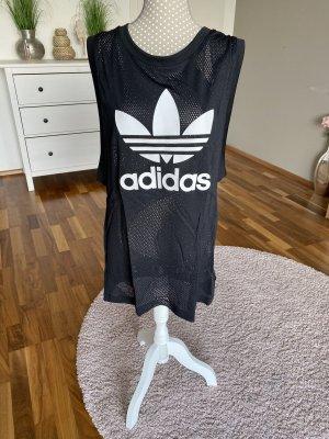 langes Adidas Top aus Mesh