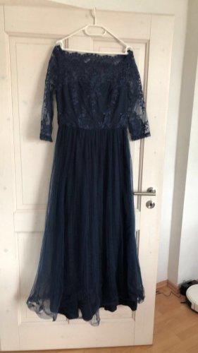 chic chic Suknia balowa ciemnoniebieski