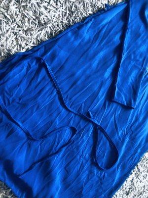 Langes blaues Top