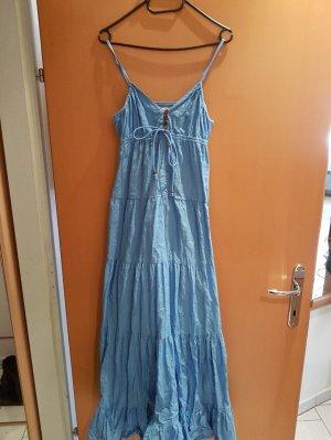 Langes Boho-Sommerkleid