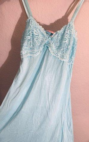 Hunkemöller Peniuar baby blue-jasnoniebieski
