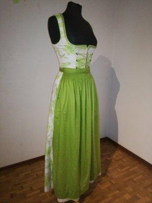 Langes Dirndl von FESTA (Krüger), Trachtenkleid, Kleid mit Schürze, Glitzer