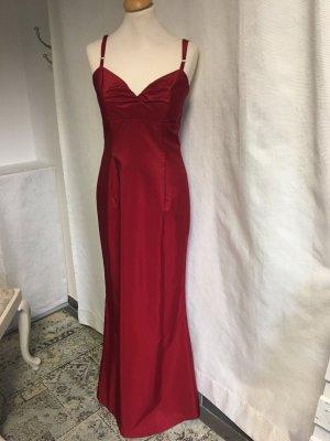 Langes festliches Kleid von Sonja Kiefer # Abendkleid # Weihnachten # Sylvester - Rot - Gr S