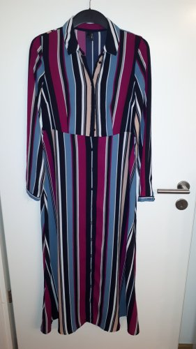 Langes, gestreiftes Kleid Vero Moda Gr. XS