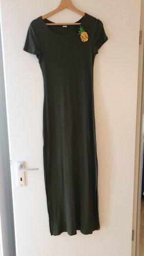 Langes grünes Kleid von Calzedonia zu verkaufen