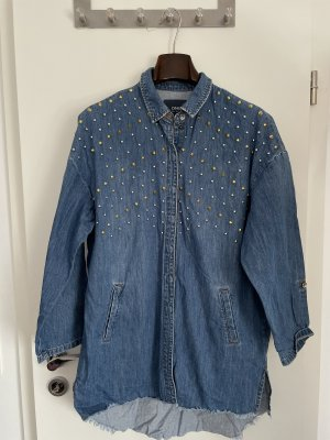 Only Denim Shirt dark blue-blue