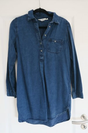 Langes Jeanshemd/Jeanskleid/Hemdkleid von H&M