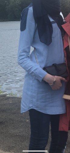 Salsa Jeans Jeansowa koszula błękitny-niebieski