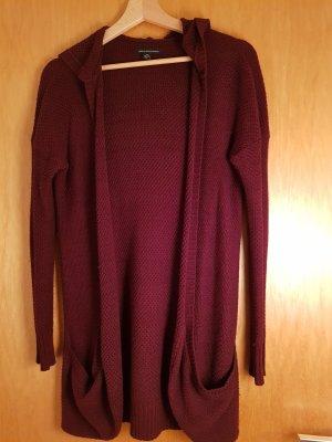 American Eagle Outfitters Gebreide cardigan bruin-paars Wol
