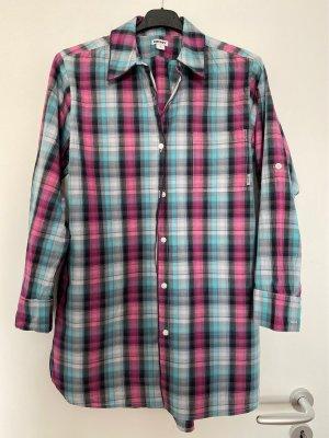 Langes Karo Hemd von DKNY in Gr. S