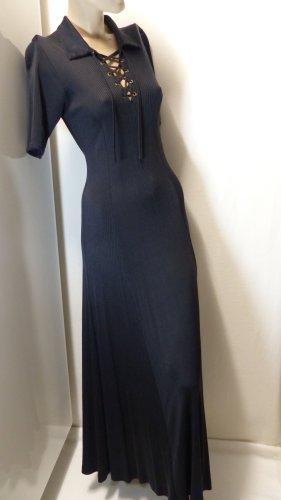 Langes Kleid, 100% Seide (Jersey), Gr. 38 (34,36)