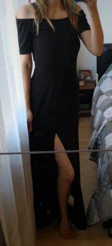 Lascana Robe mi-longue noir