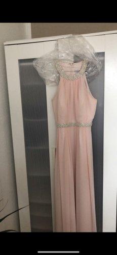 Marie Lund Robe de bal or rose