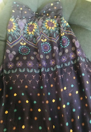 Zara Robe Hippie violet-jaune