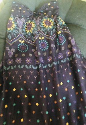 Zara Abito hippie lilla-giallo