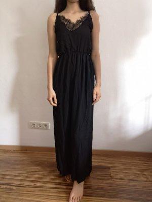 SheIn Vestido cruzado negro