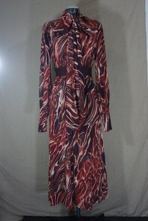 Langes Kleid aus Viskose und Baumwolle