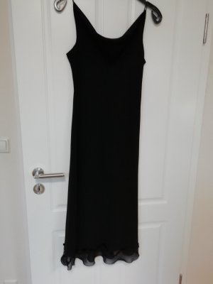 Zero Evening Dress black viscose