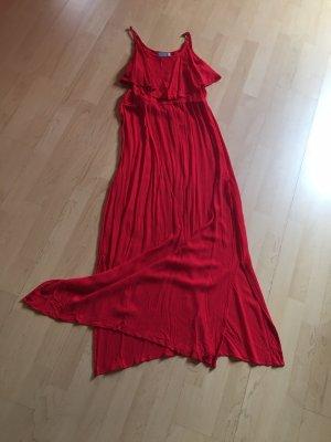 blue motion by michelle huntziker Chiffon Dress red